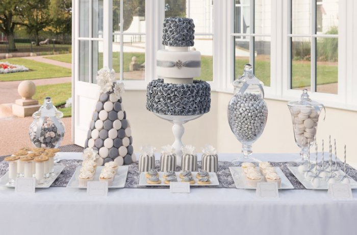 افكار حلويات جديدة ومميزة لحفلات الزفاف