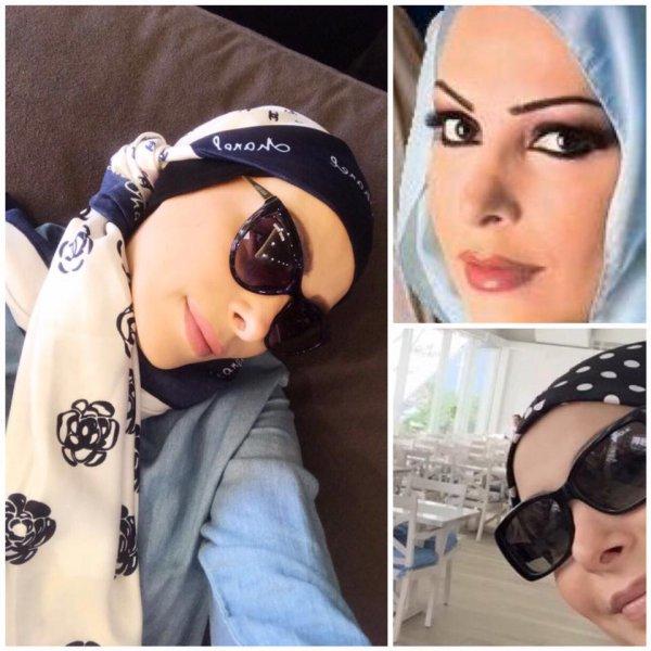 صور أمل حجازي في أول جلسة تصوير لها بالحجاب