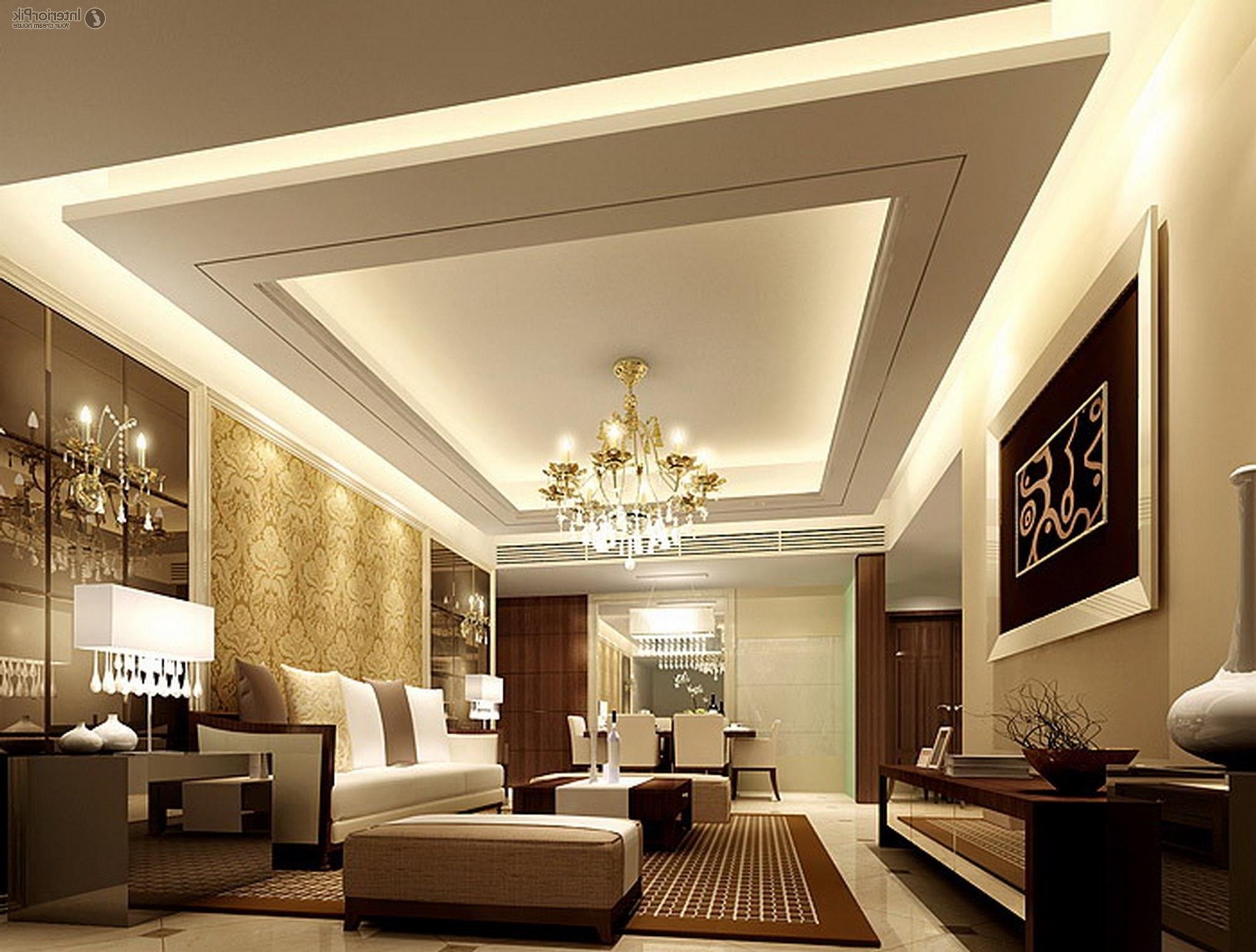 Gypsum Ceiling Design For Living Room Gypsum Ceiling For