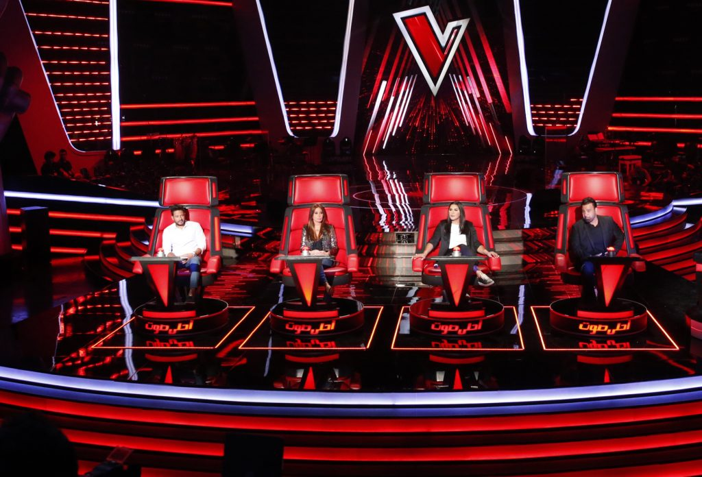 MBC1 & MBC MASR The Voice S4 Launch Press Conf- Four Coaches