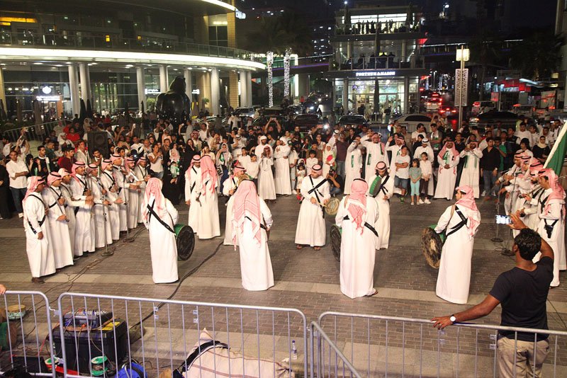 Traditional bands to perform in Dubai to celebrate Saudi National Day