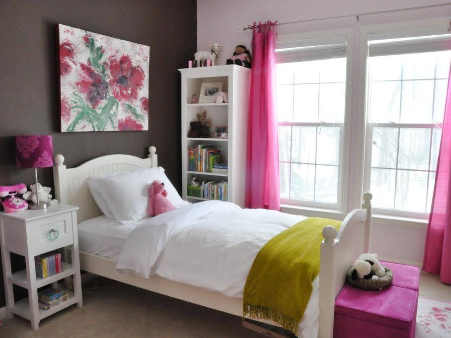 افكار ديكورات غرف نوم بنات | الراقية