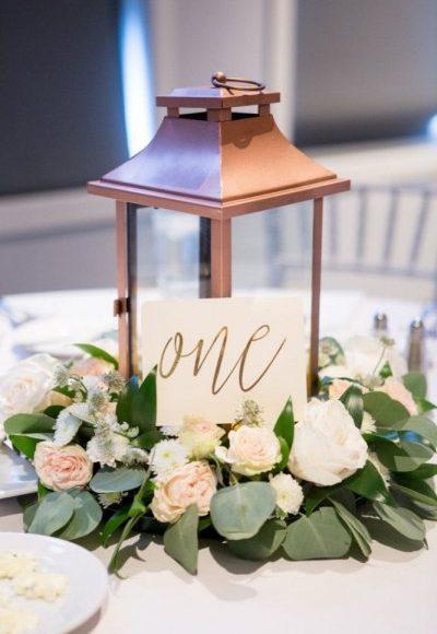 اجمل ثيمات زواج باللون البرونزي لعروس الخريف