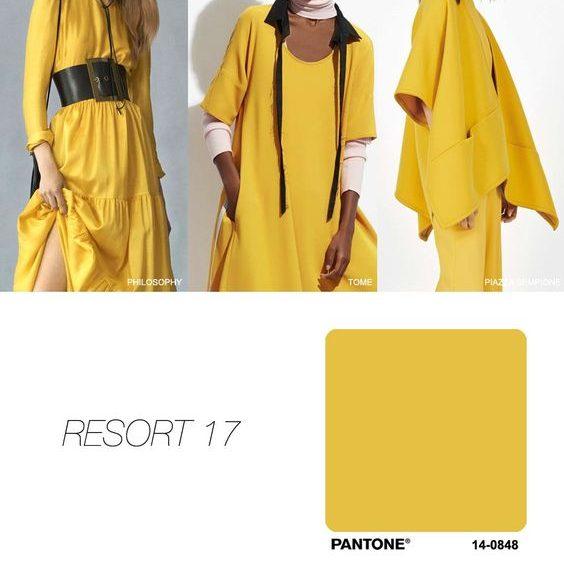 اللون الاصفر