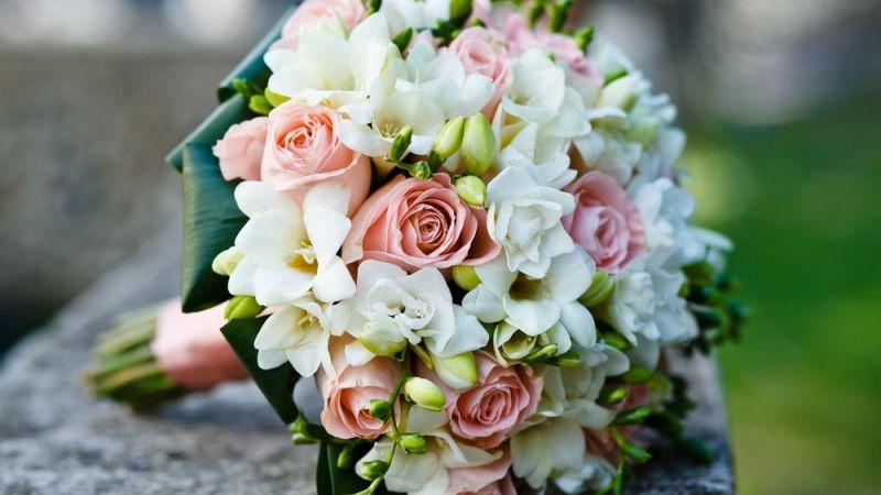 صور باقات ورد للعروس الراقية