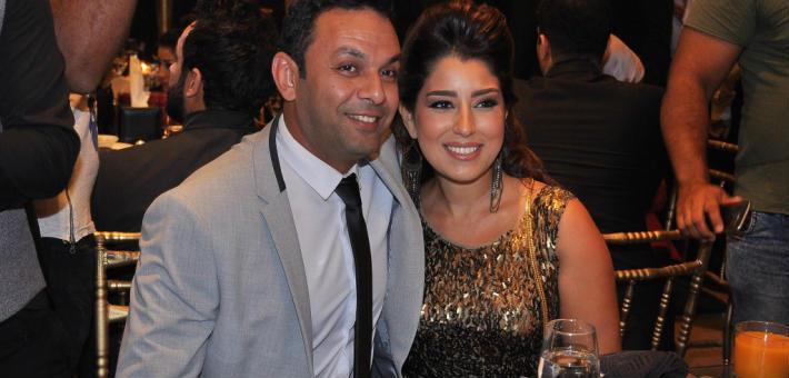 ايتن عامر وزوجها