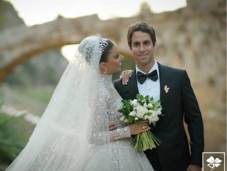 العروس وزوجها فيليب