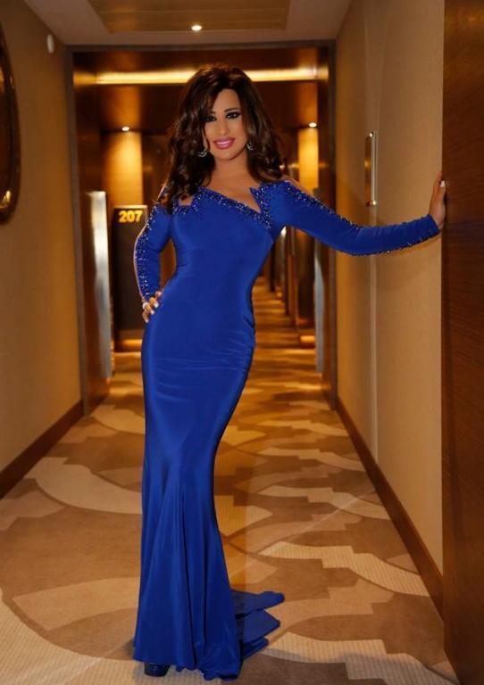 صورة-فستان-نجوى-كرم-باللون-الوردي- (10)