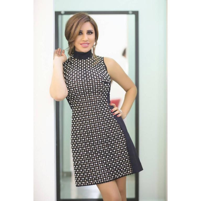 صورة-فستان-نجوى-كرم-باللون-الوردي- (3)