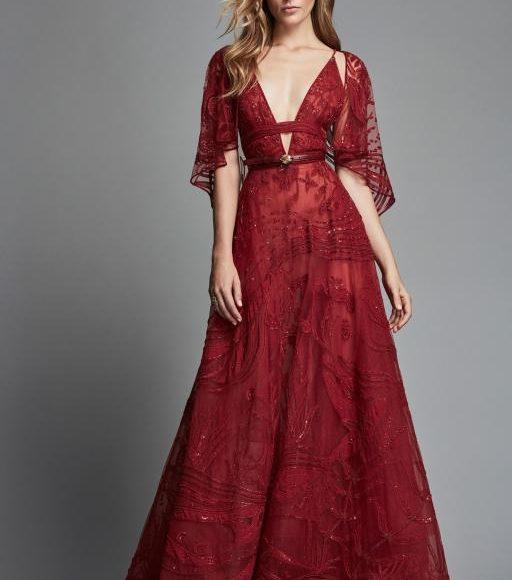 فستان خطوبة من زهير مراد