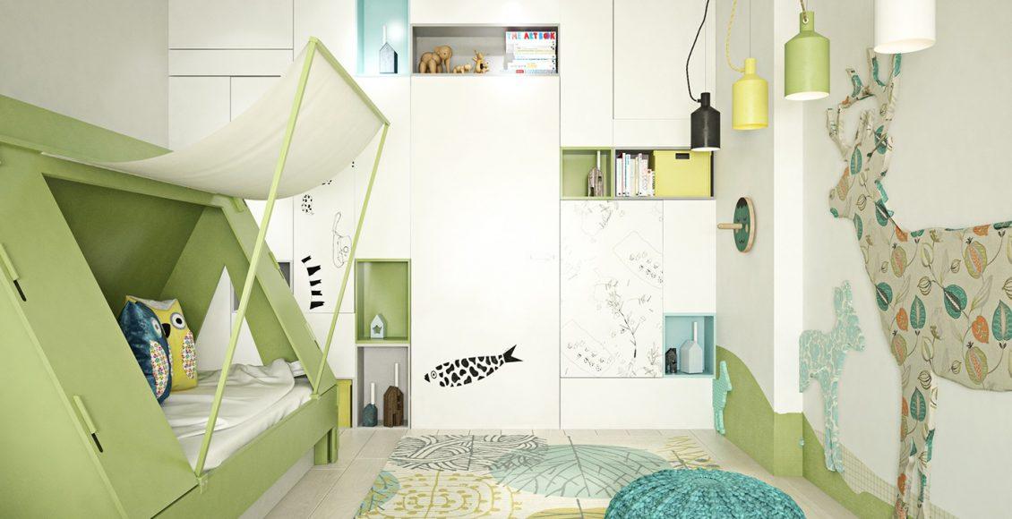ديكورات غرف نوم اطفال