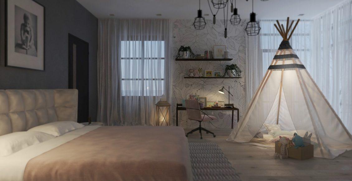 ديكورات غرفة نوم اطفال
