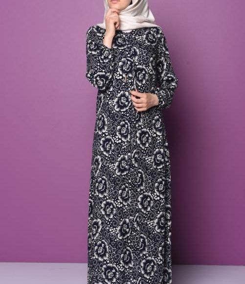 تصميم فستان فلوري