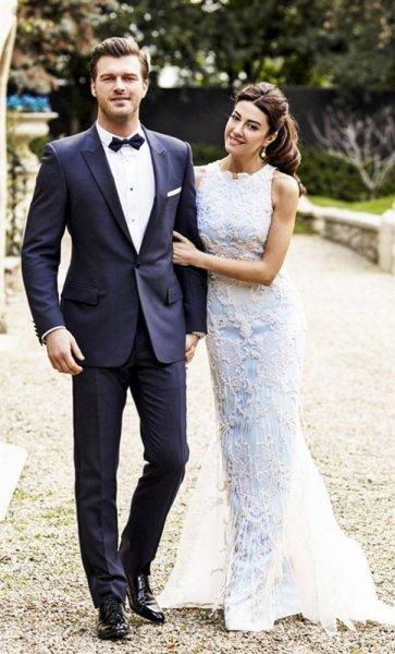كيفانش تاتليتوغ وزوجته