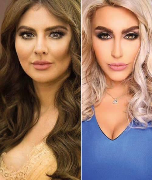 مريم حسين و ليلى اسكندر