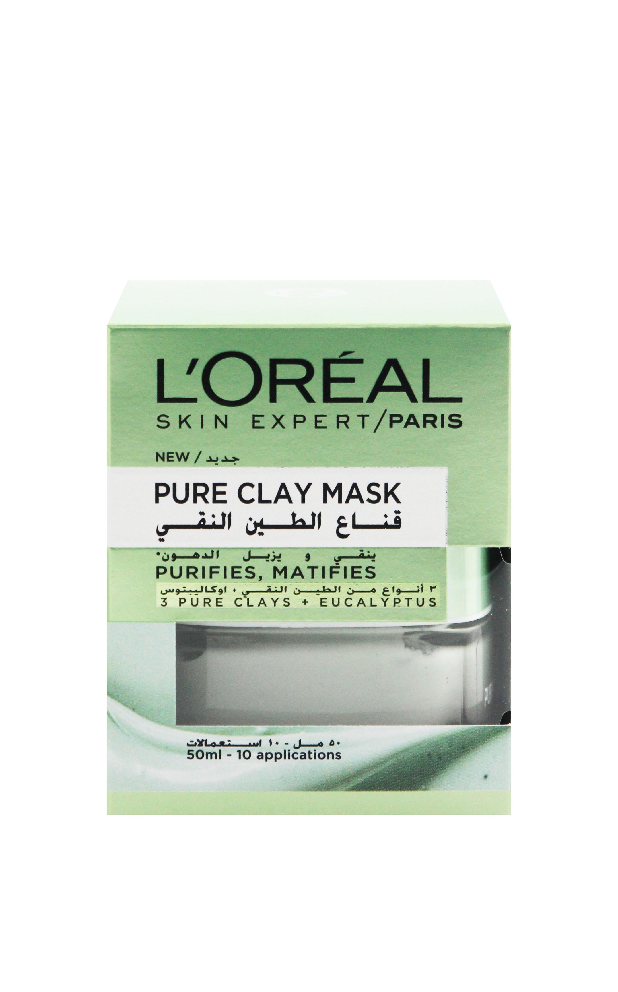 Clay Mask - Eucalyptus - 3600523306176