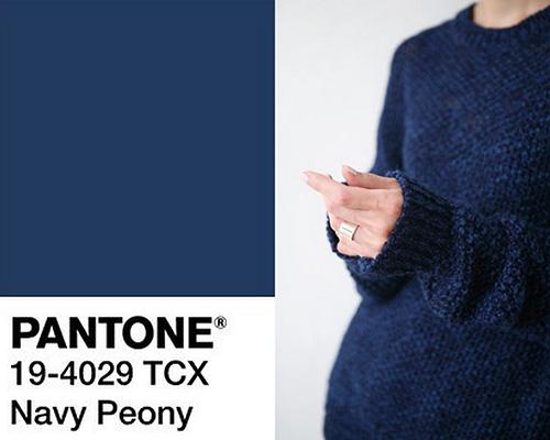 الأزرق البحري Navy Peony
