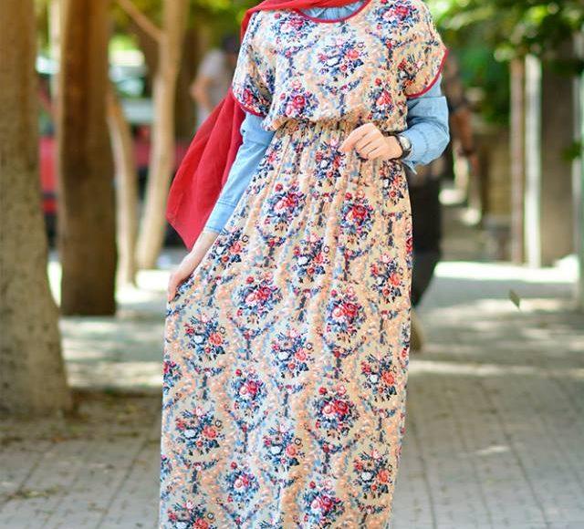 فستان محجبة