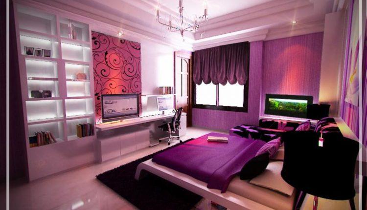 غرفة نوم حديثة