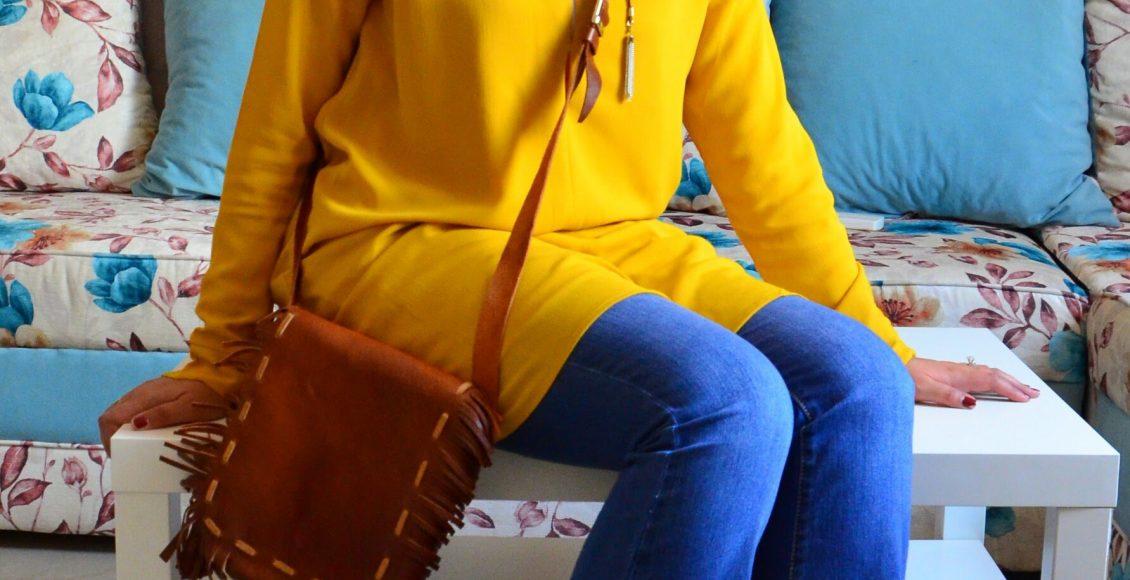طرق تنسيق الوان ملابس المحجبات الراقية