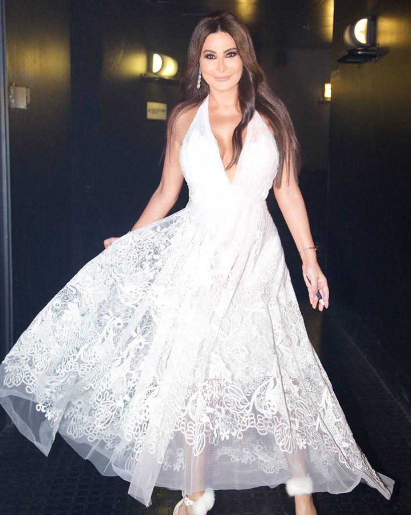 اطلالة-الفستان-الابيض