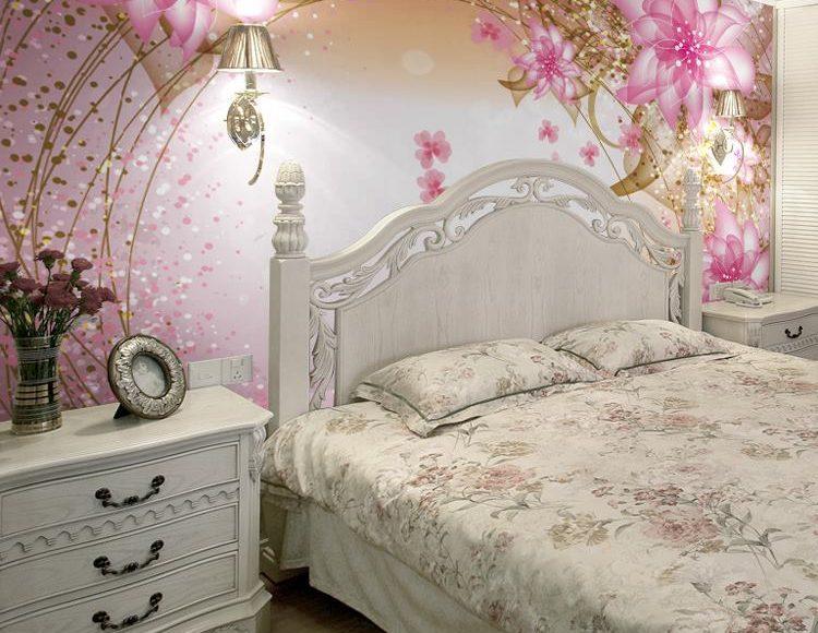 ورق حوائط ورود لغرفة النوم