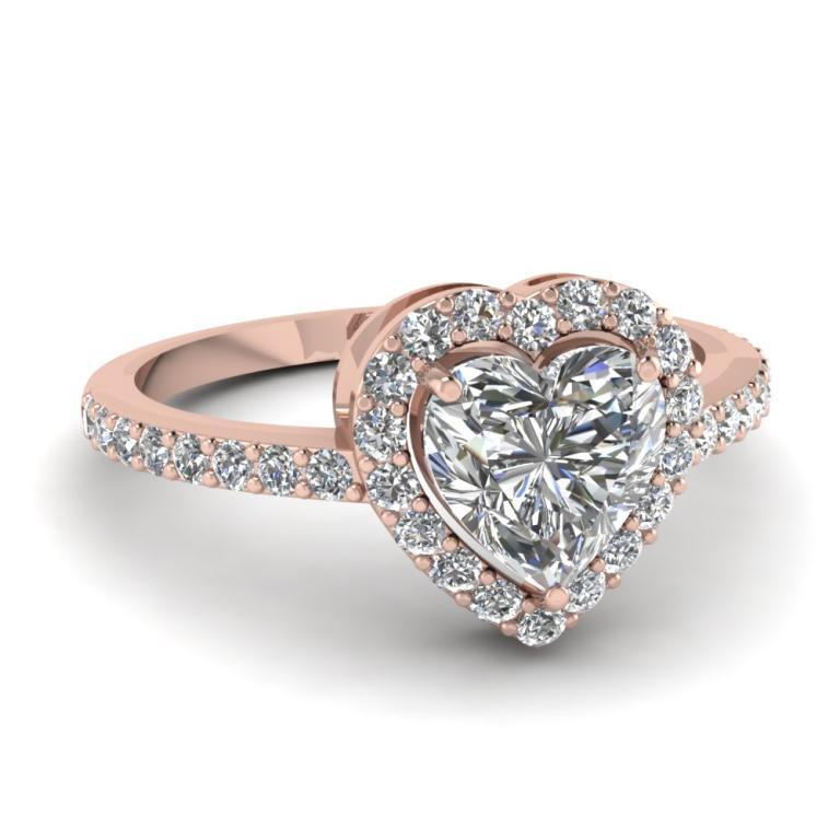 خاتم-الماس-قلب