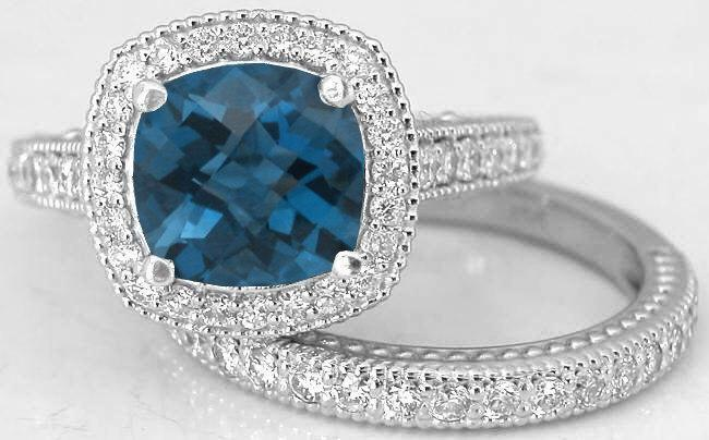 خاتم-بالالماس-الازرق