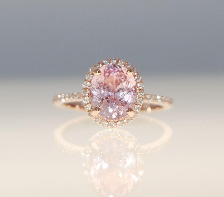 خاتم-بالالماس-الوردي