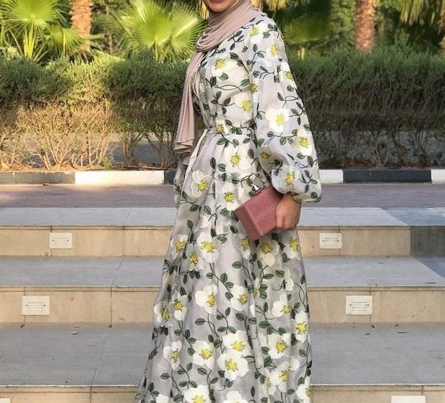 فاطمة حسام بالفستان المورد