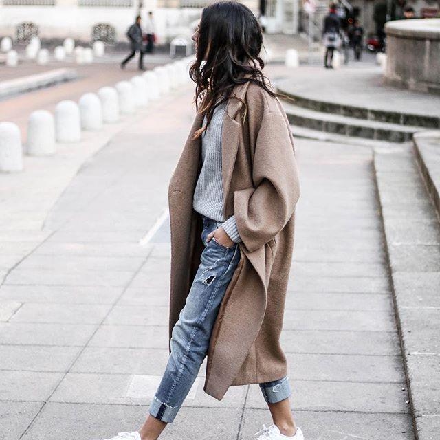 c178acd11 ملابس شتوية كاجوال للبنات 2018 | الراقية
