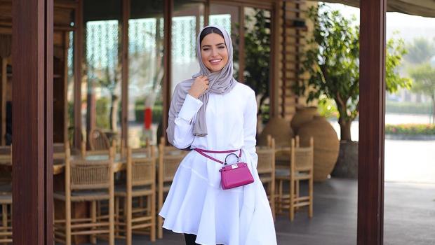 مدونة الموضة فاطمة حسام