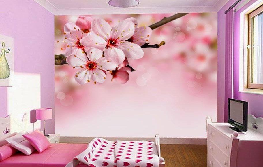 ورق حائط ثلاثي الابعاد لغرفة النوم