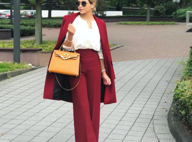 Zara coat pants shirt