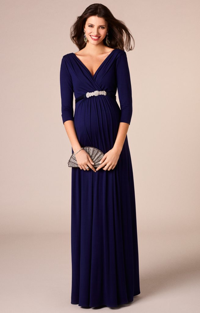 pregnant-women-dress-evening-dress