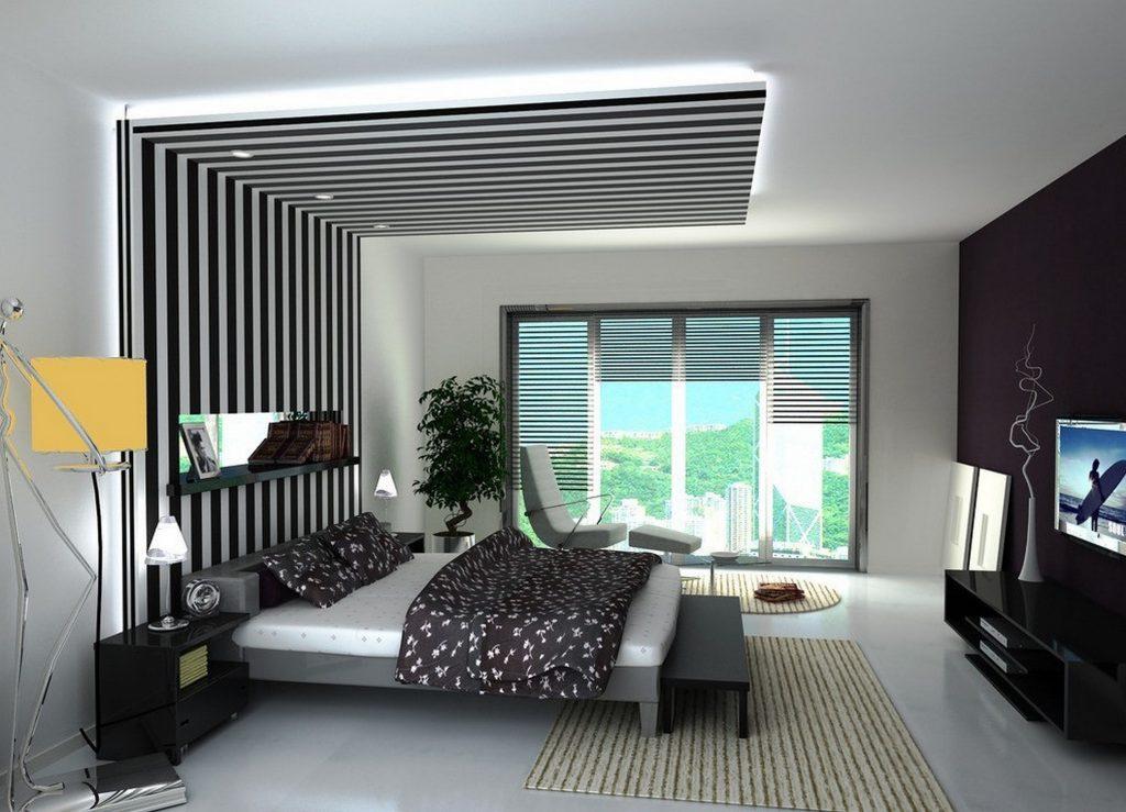 ديكورات جبس غرف نوم حديثة 2018 الراقية