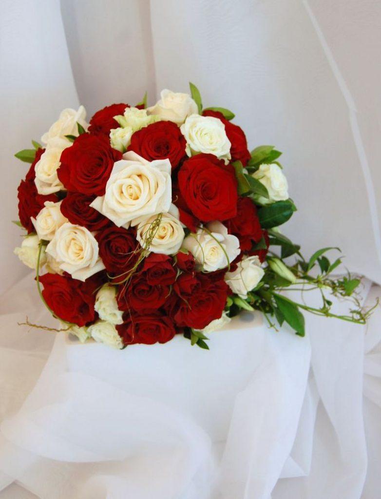 باقات ورد حمراء للعروس 2018 الراقية
