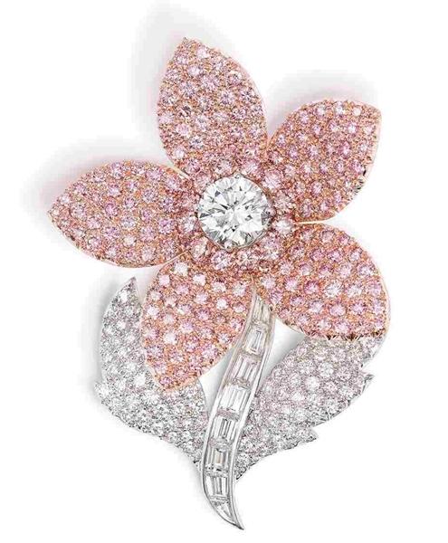 بروش-بالالماس-الزهري