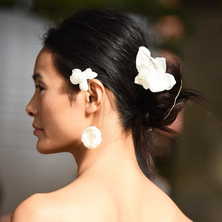 تسريحة-شعر-عروس-ليلا-روز