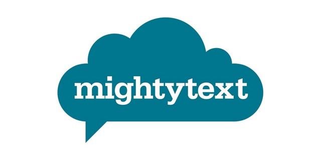 تطبيق MightyText