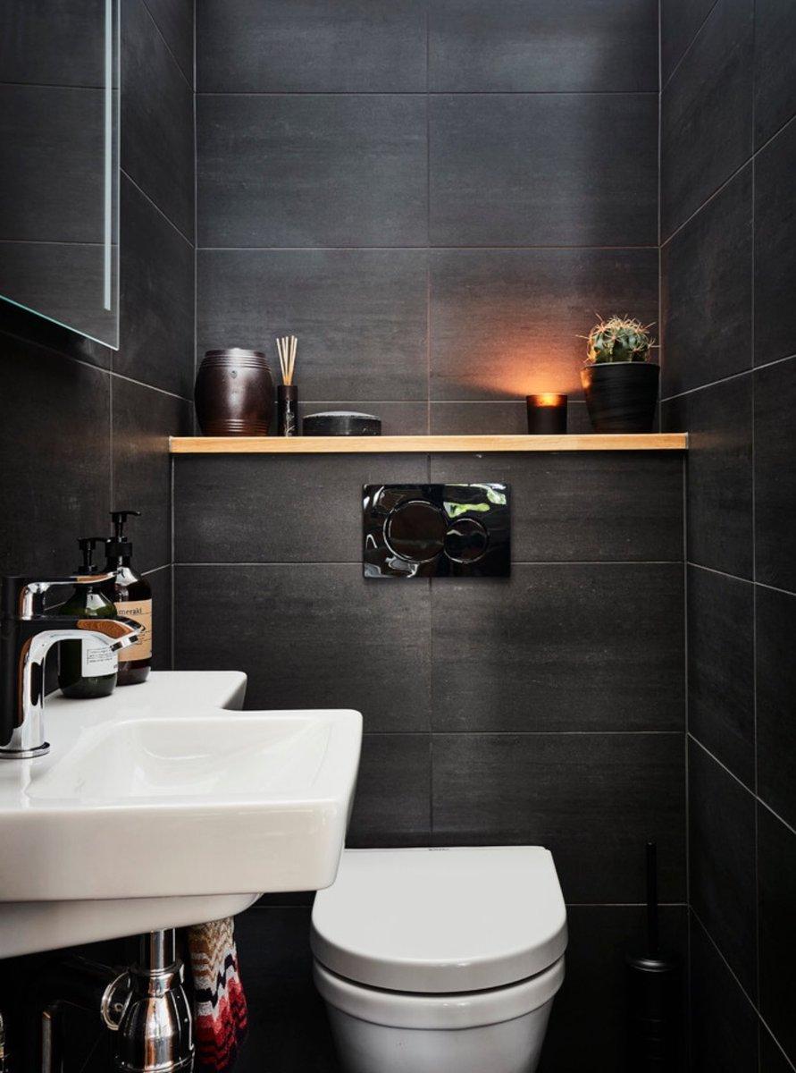 صور ديكورات حمامات صغيرة المساحة الراقية