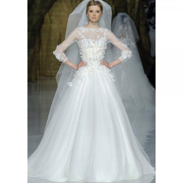 f15f4748e فساتين زفاف للمحجبات 2018 | الراقية