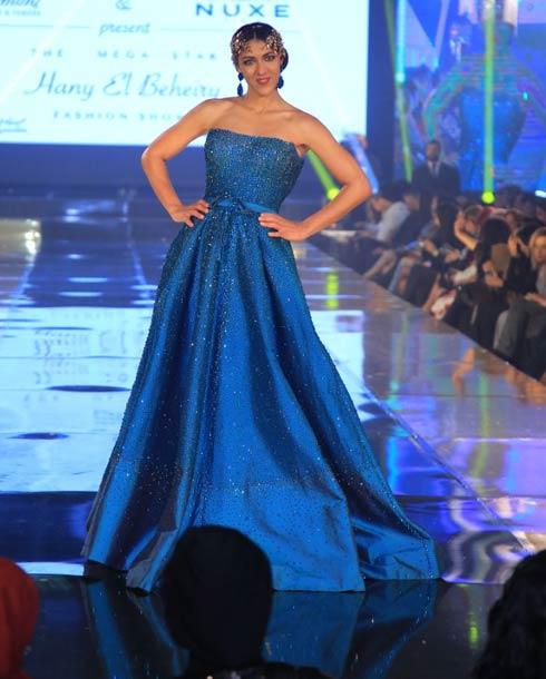 فستان-سهرة-أزرق