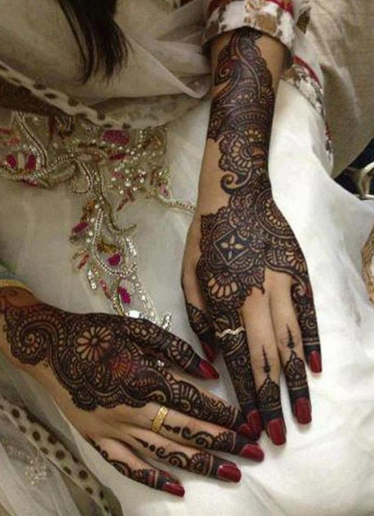 نقش-حناء-العروس