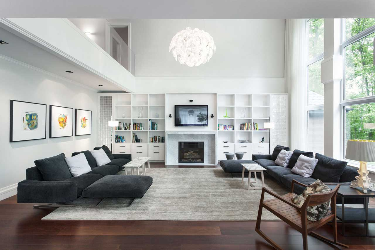 Decorating Gray Living Room Excellent Concept Of Modern