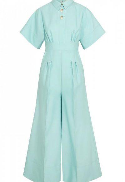 90b0884a6 الجمبسوت الأنيق بقصة الفستان ذو اللون الفاتح