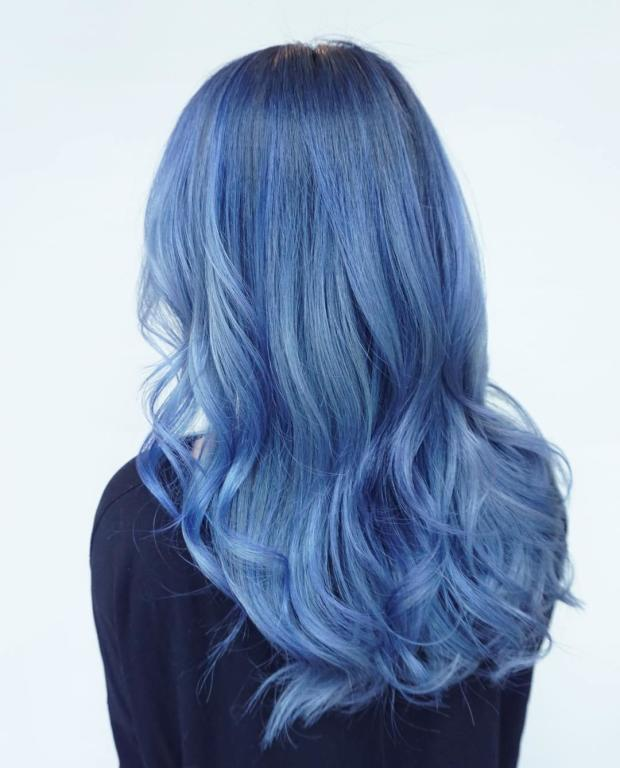 صبغة-باللون-الازرق