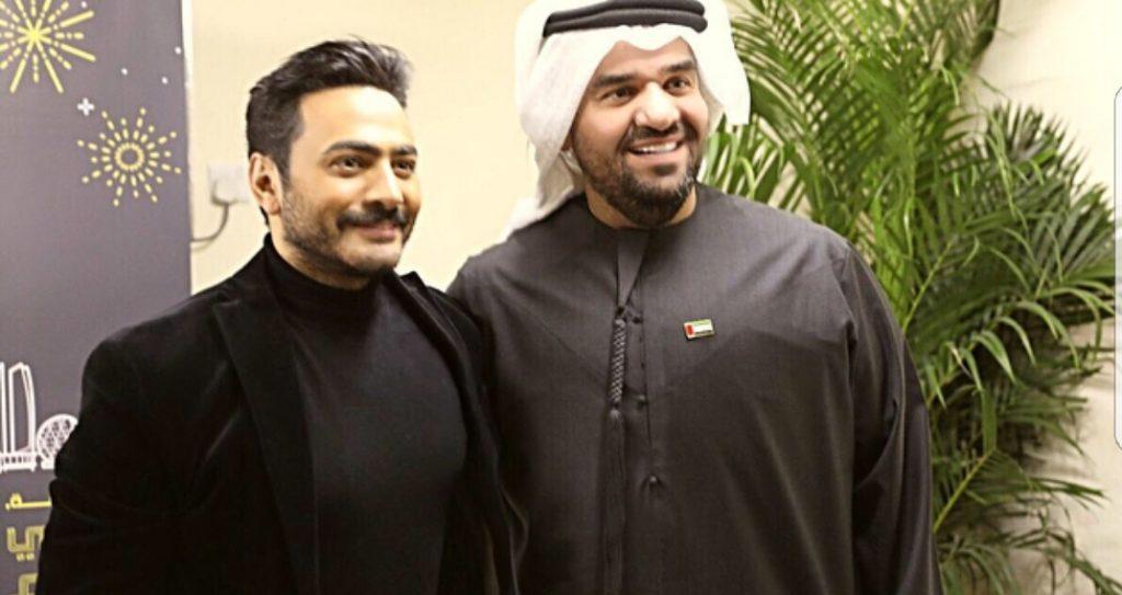 صورة-تجمع-النجم-مع-حسين-الجسمي