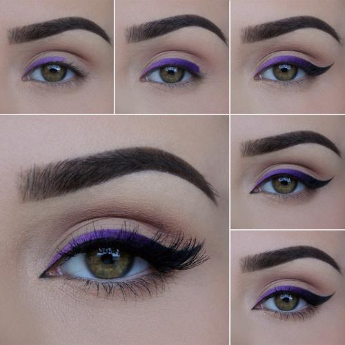 طريقة-رسم-العيون
