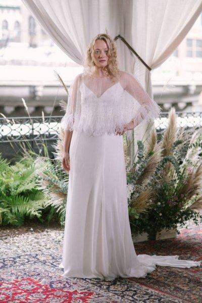 فستان-زفاف-بالشراشيب-الكسندرا-جيريكو